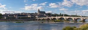 Blois Loire vue panoramique