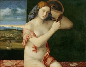 Jeune femme à sa toilette, 1515, Vienne