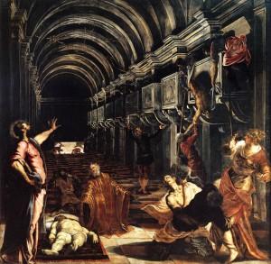Le miracle de Saint Marc, (1562-66), Brera, Milan