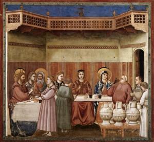 Noces de Cana, Chapelle Scrovegni, c. 1305, Padoue