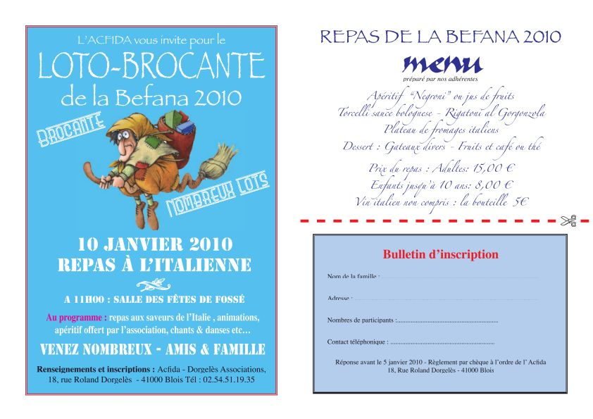 tradition italienne naissance