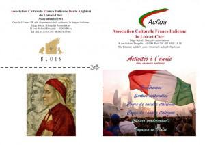 Tract de présentation de l'ACFIDA 41