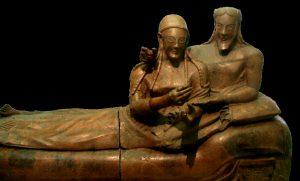 Sarcophage des Epoux, c 520 av J-C, Villa Giulia, Rome