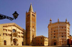 Cathédrale et baptistère de Parme