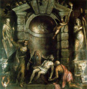 Titien, Pietà 1575, Accademia, Venise